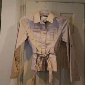 Old Navy belted lightweight jacket